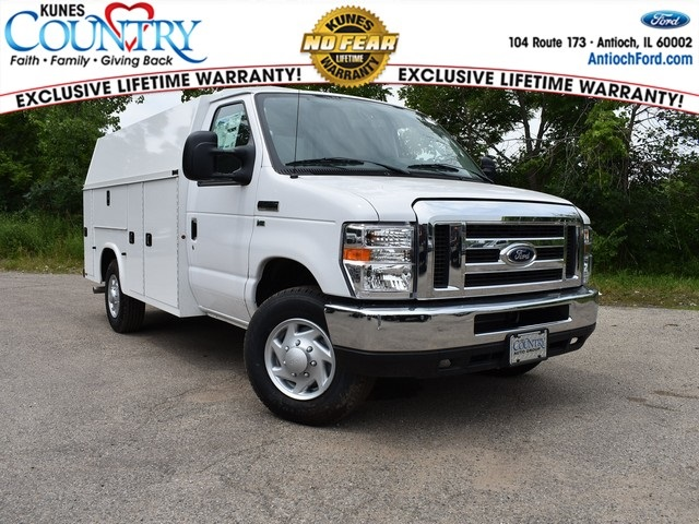 2017 E-350 4x2,  Knapheide KUV Service Utility Van #AT08942 - photo 1