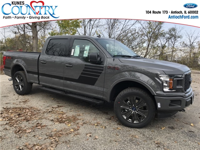 2018 F-150 Crew Cab 4x4 Pickup #AT09051 - photo 3
