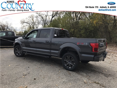 2018 F-150 Crew Cab 4x4 Pickup #AT09051 - photo 2