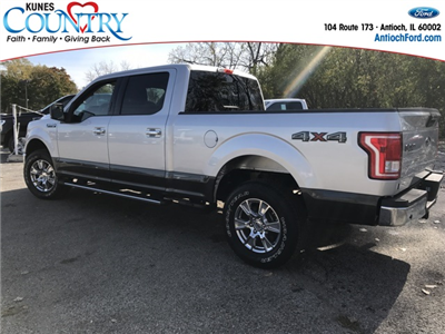 2017 F-150 Crew Cab 4x4 Pickup #AT09103 - photo 2