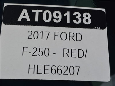 2017 F-250 Regular Cab 4x4,  Pickup #AT09138 - photo 25