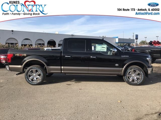 2018 F-150 Crew Cab 4x4 Pickup #AT09175 - photo 4