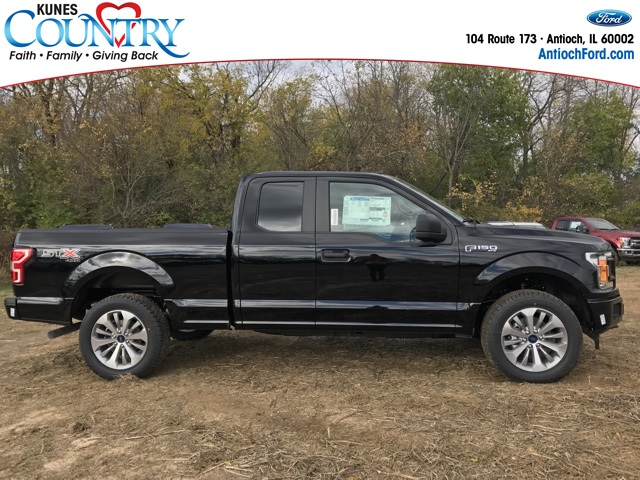2018 F-150 Super Cab 4x4 Pickup #AT09185 - photo 4