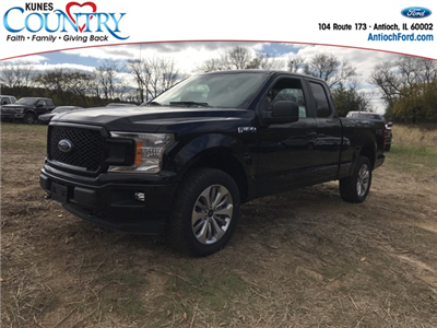 2018 F-150 Super Cab 4x4 Pickup #AT09185 - photo 1