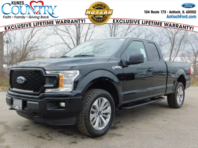2018 F-150 Super Cab 4x4, Pickup #AT09194 - photo 1