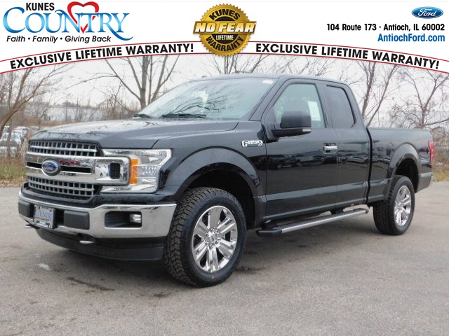 2018 F-150 Super Cab 4x4 Pickup #AT09227 - photo 1