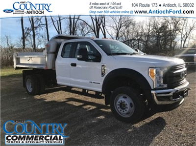 2017 F-450 Super Cab DRW 4x4, Monroe MTE-Zee SST Series Dump Body #AT09300 - photo 1