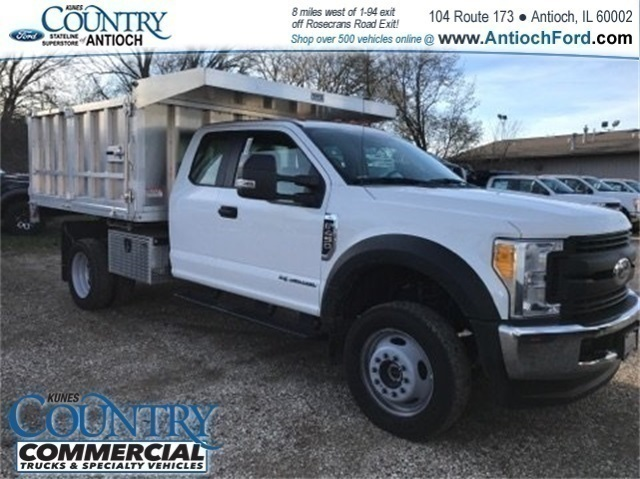 2017 F-450 Super Cab DRW 4x4, Tafco Landscape Dump #AT09337 - photo 3