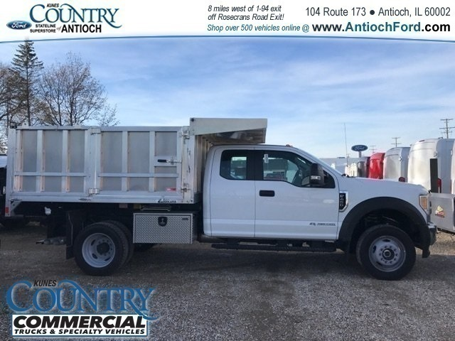 2017 F-450 Super Cab DRW 4x4, Tafco Landscape Dump #AT09337 - photo 2