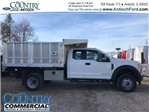 2017 F-450 Super Cab DRW 4x4, Tafco Landscape Dump #AT09337 - photo 1