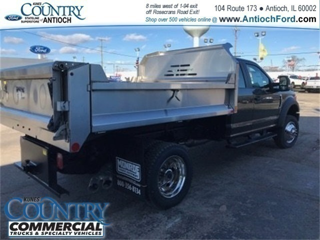 2017 F-450 Super Cab DRW 4x4,  Monroe Dump Body #AT09361 - photo 2