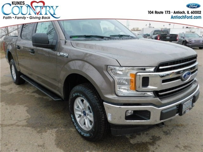 2018 F-150 Crew Cab 4x4, Pickup #AT09387 - photo 3