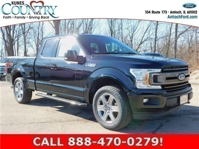 2018 F-150 Super Cab 4x4, Pickup #AT09423 - photo 1