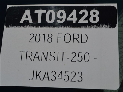 2018 Transit 250 Low Roof 4x2,  Empty Cargo Van #AT09428 - photo 24