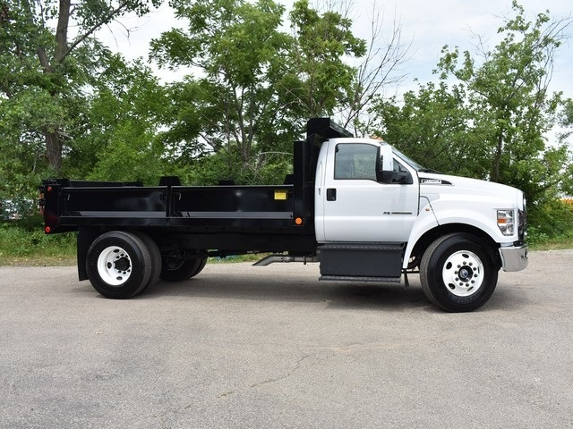 2018 F-650 Regular Cab DRW 4x2,  Galion Dump Body #AT09554 - photo 9