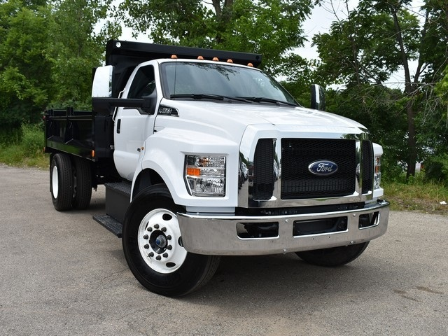 2018 F-650 Regular Cab DRW 4x2,  Galion Dump Body #AT09554 - photo 14