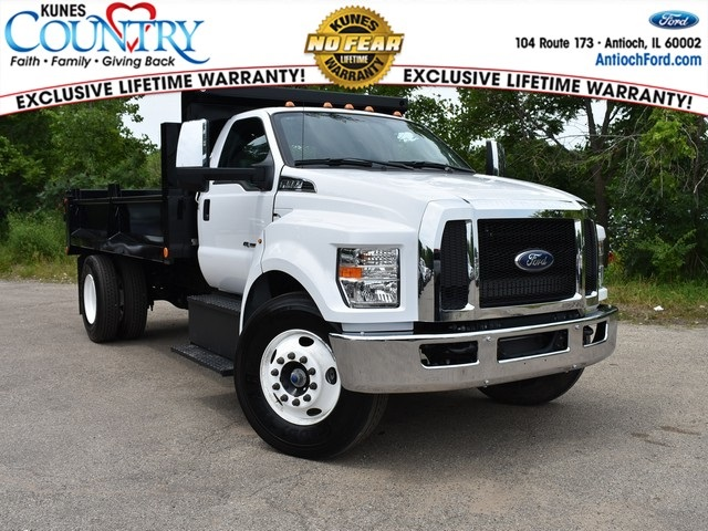 2018 F-650 Regular Cab DRW 4x2,  Galion Dump Body #AT09554 - photo 3