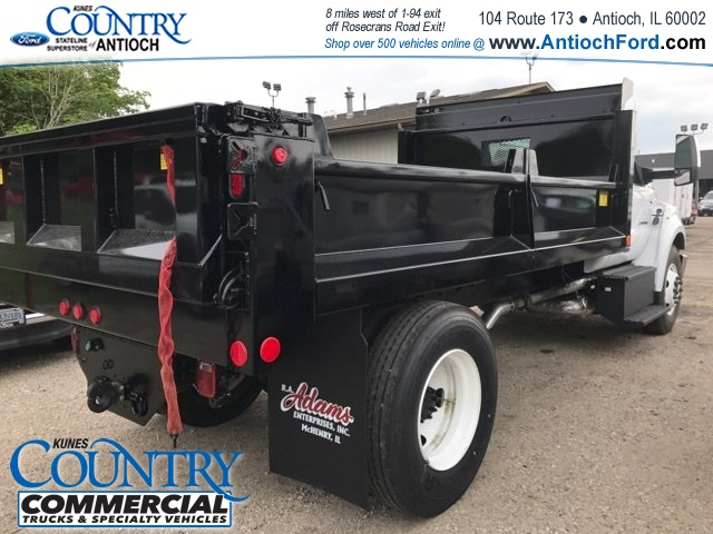 2018 F-650 Regular Cab DRW 4x2,  Galion Dump Body #AT09554 - photo 10