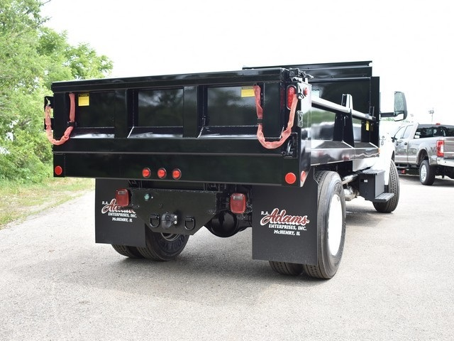 2018 F-650 Regular Cab DRW 4x2,  Galion Dump Body #AT09554 - photo 4