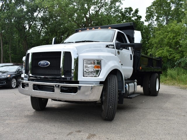 2018 F-650 Regular Cab DRW 4x2,  Galion Dump Body #AT09554 - photo 12