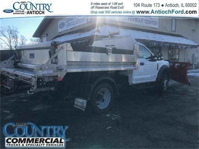 2017 F-550 Regular Cab DRW 4x4,  Monroe Dump Body #AT09562 - photo 2
