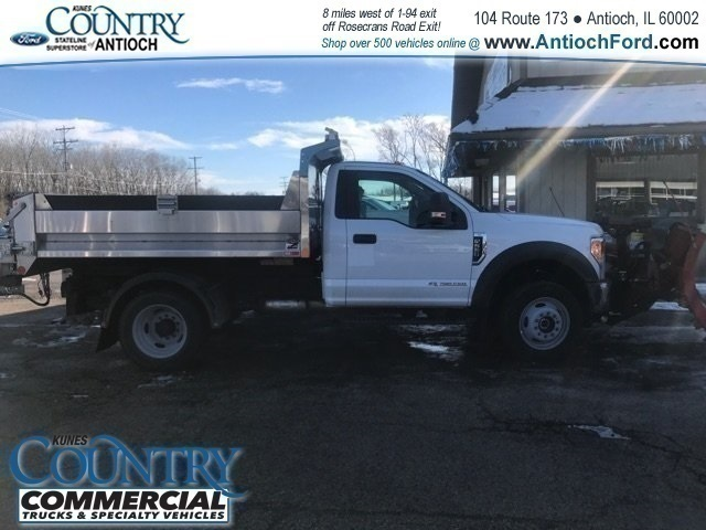 2017 F-550 Regular Cab DRW 4x4,  Monroe Dump Body #AT09562 - photo 5