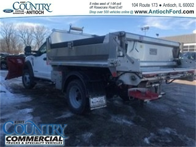 2017 F-550 Regular Cab DRW 4x4,  Monroe Dump Body #AT09562 - photo 4