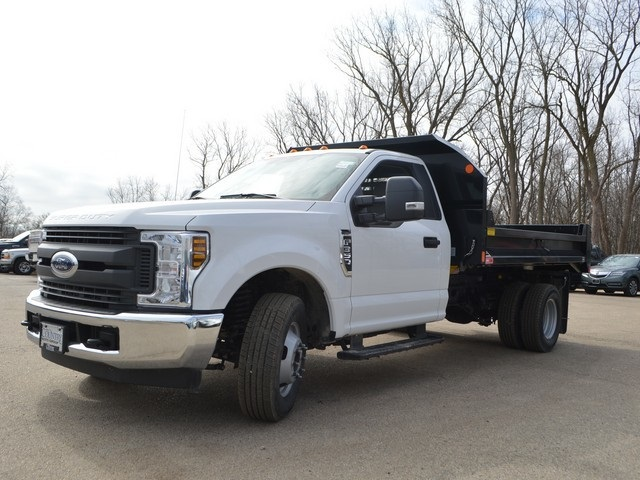 2018 F-350 Regular Cab DRW 4x2,  Monroe Dump Body #AT09591 - photo 5
