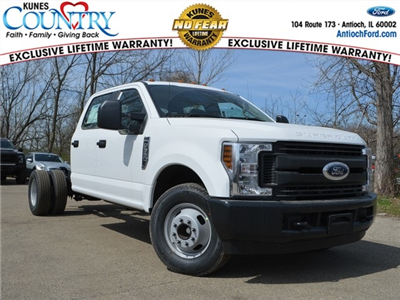 2018 F-350 Crew Cab DRW 4x2,  Cab Chassis #AT09627 - photo 1