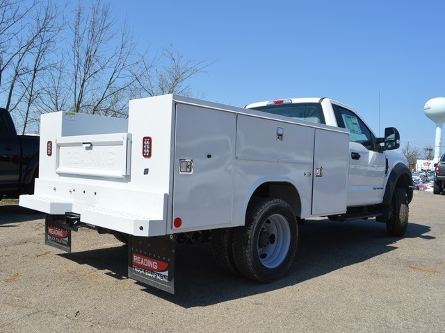 2017 F-450 Regular Cab DRW 4x4,  Reading Service Body #AT09668 - photo 2