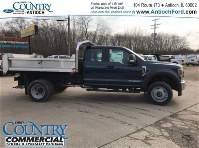 2018 F-450 Super Cab DRW 4x4, Monroe Dump Body #AT09681 - photo 4