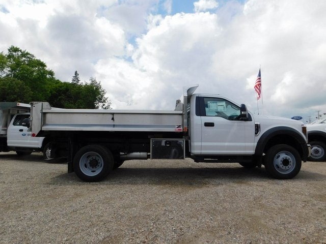 2018 F-450 Regular Cab DRW 4x2,  Monroe Dump Body #AT09787 - photo 5