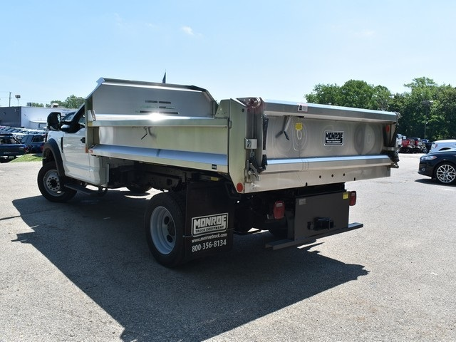 2018 F-450 Regular Cab DRW 4x2,  Monroe Dump Body #AT09787 - photo 8