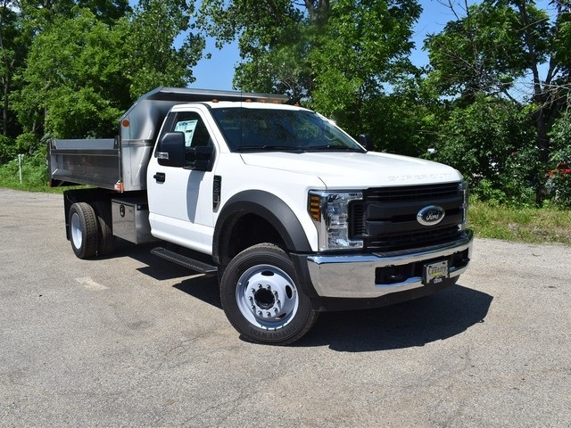 2018 F-450 Regular Cab DRW 4x2,  Monroe Dump Body #AT09787 - photo 14