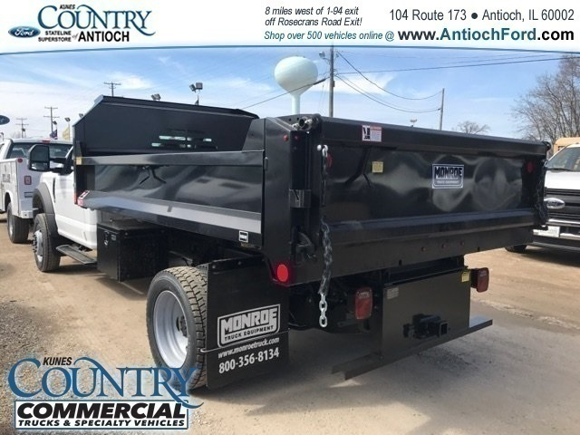 2018 F-550 Regular Cab DRW 4x4,  Monroe Dump Body #AT09790 - photo 4