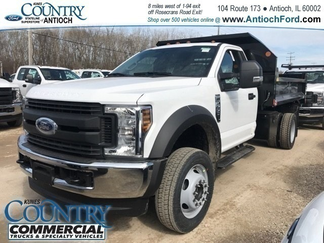 2018 F-550 Regular Cab DRW 4x4,  Monroe Dump Body #AT09790 - photo 3