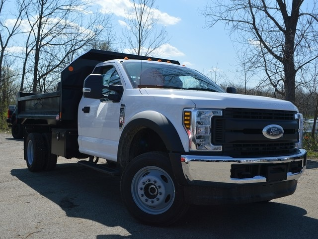 2018 F-550 Regular Cab DRW 4x4,  Monroe Dump Body #AT09790 - photo 8