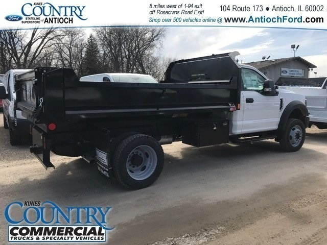 2018 F-550 Regular Cab DRW 4x4,  Monroe Dump Body #AT09790 - photo 2