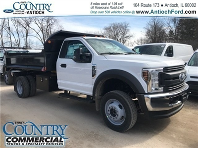 2018 F-550 Regular Cab DRW 4x4,  Monroe MTE-Zee Dump Dump Body #AT09790 - photo 5