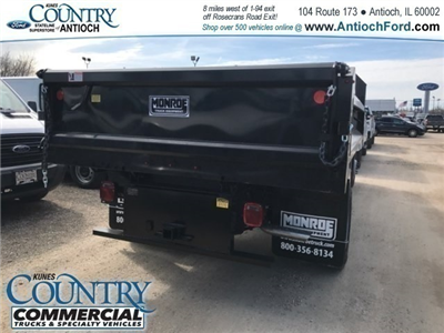 2018 F-550 Regular Cab DRW 4x4,  Monroe MTE-Zee Dump Dump Body #AT09790 - photo 6