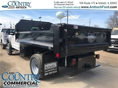 2018 F-550 Regular Cab DRW 4x4,  Monroe MTE-Zee Dump Dump Body #AT09790 - photo 4