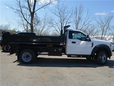 2018 F-550 Regular Cab DRW 4x4,  Monroe MTE-Zee Dump Dump Body #AT09790 - photo 11