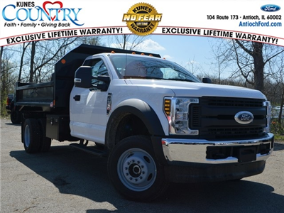 2018 F-550 Regular Cab DRW 4x4,  Monroe MTE-Zee Dump Dump Body #AT09790 - photo 1