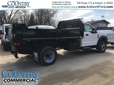 2018 F-550 Regular Cab DRW 4x4,  Monroe MTE-Zee Dump Dump Body #AT09790 - photo 2