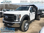 2018 F-550 Regular Cab DRW 4x4,  Monroe MTE-Zee Dump Dump Body #AT09790 - photo 3