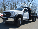 2018 F-550 Regular Cab DRW 4x4,  Monroe MTE-Zee Dump Dump Body #AT09790 - photo 9
