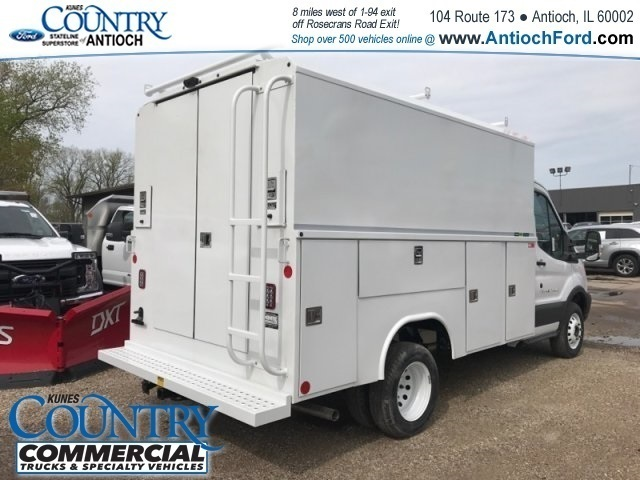 2018 Transit 350 HD DRW, Reading Service Utility Van #AT09867 - photo 4