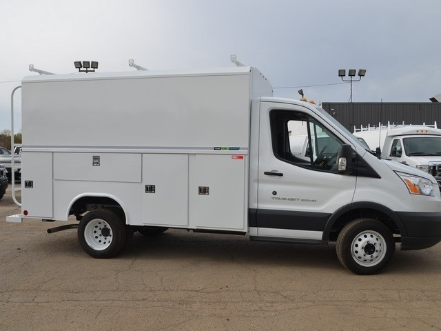 2018 Transit 350 HD DRW, Reading Service Utility Van #AT09867 - photo 2