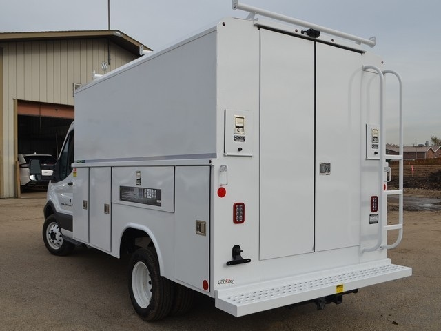 2018 Transit 350 HD DRW 4x2,  Reading Aluminum CSV Service Utility Van #AT09867 - photo 6