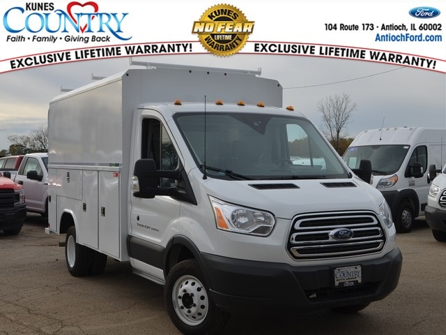 2018 Transit 350 HD DRW 4x2,  Reading Service Utility Van #AT09867 - photo 3